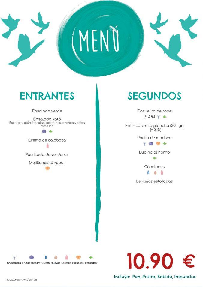 3 estrategias para diseñar un menú de restaurante