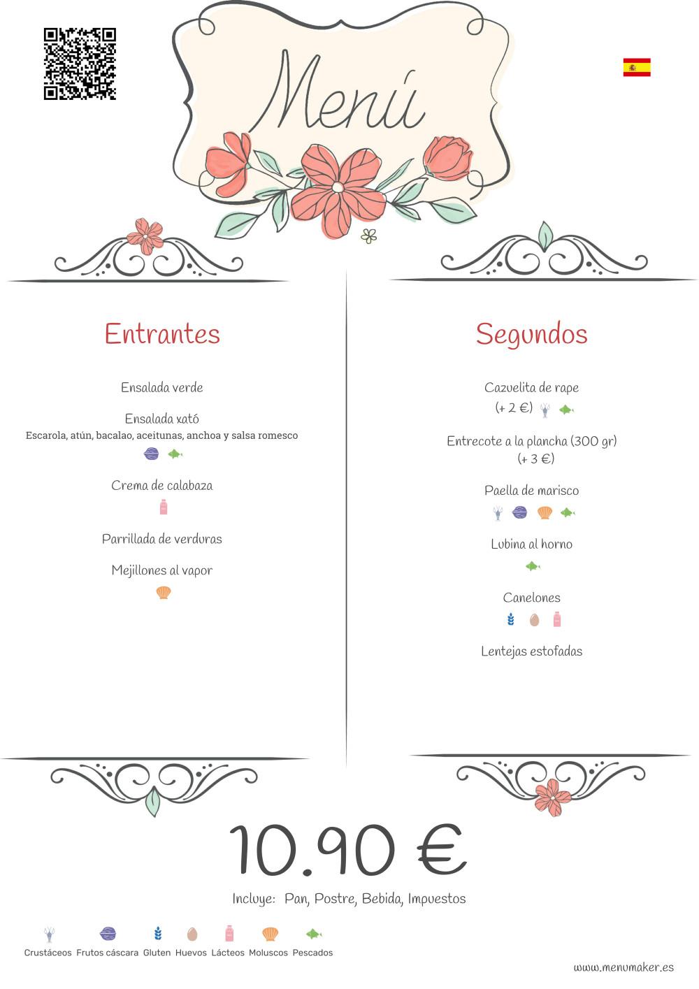 Cómo elegir la plantilla que mejor va al diseño de la carta de tu restaurante