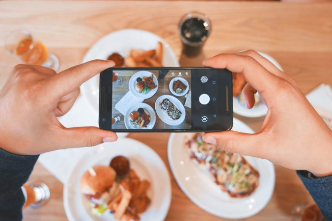 redes sociales para el marketing de restaurante